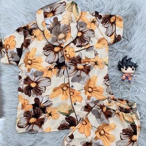 Flower PJ women sleepwear- size S